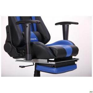 Кресло VR Racer Magnus черный/синий