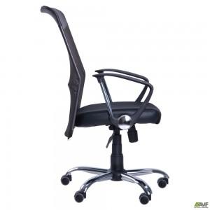 Кресло АЭРО HB Line сиденье Сетка черная,Неаполь N-20/спинка Сетка черная, вставка Неаполь N-20