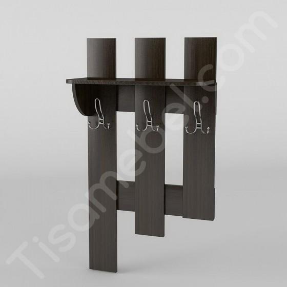 Вешалка настенная-2 Тиса Мебель