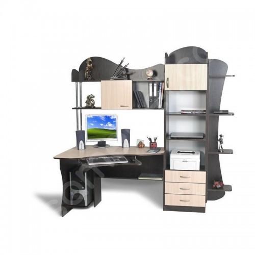 Прямой компьютерный стол СК-16 Тиса Мебель