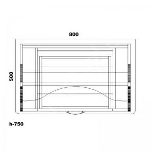 Стол для ноутбука СУ-1 Тиса Мебель